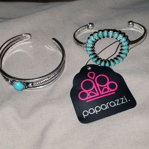 2 Paparrazzi Cuffs New with Tags